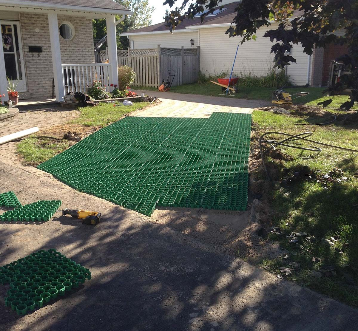 Permeable Grass Or Gravel Driveways Green Driveway